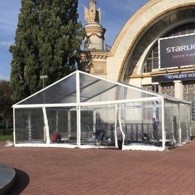 Модульная система «Multiflex Cristal» (прозрачные стены и крыша)